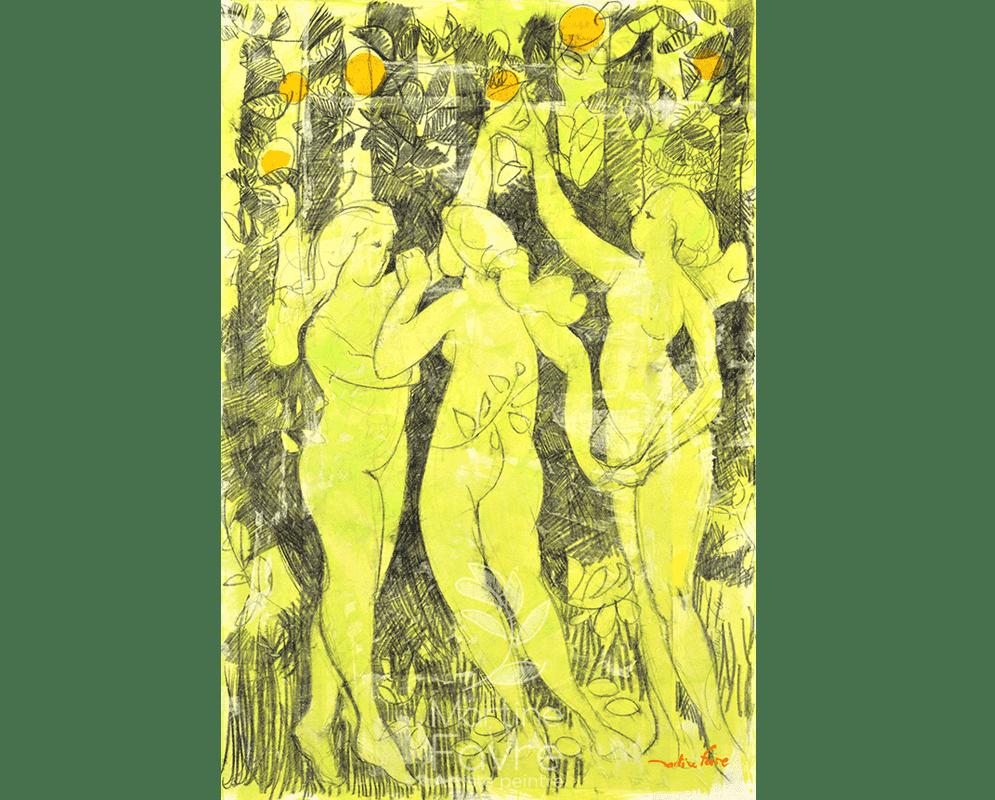 martine-favre-quebec-local-deco-design-cartes-souhaits-trois-grace-eden-danse-peinture