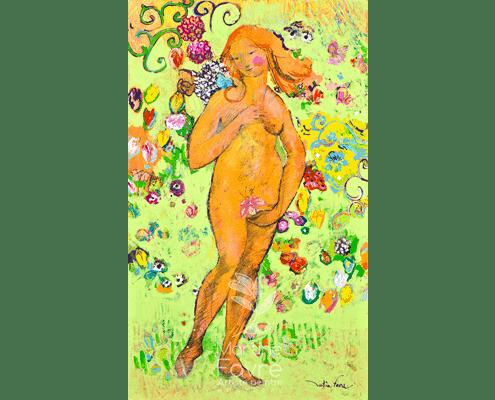 martine-favre-quebec-local-deco-design-cartes-souhaits-venus-boticceli-italie-peinture