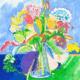 martine-favre-artiste-montreal-quebec-local-deco-design-murale-fete-mere-carte-souhaits-cadre-bouquet