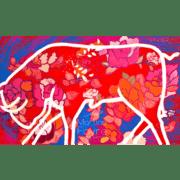 martine-favre-artiste-montreal-quebec-local-deco-design-murale-espagne-corrida-carte-souhaits-taureau-anniversaire