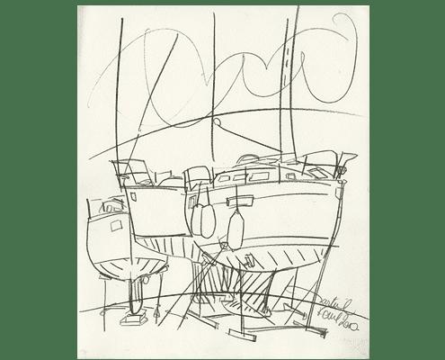 martine-favre-artiste-croquis-carte-souhaits-bateaux