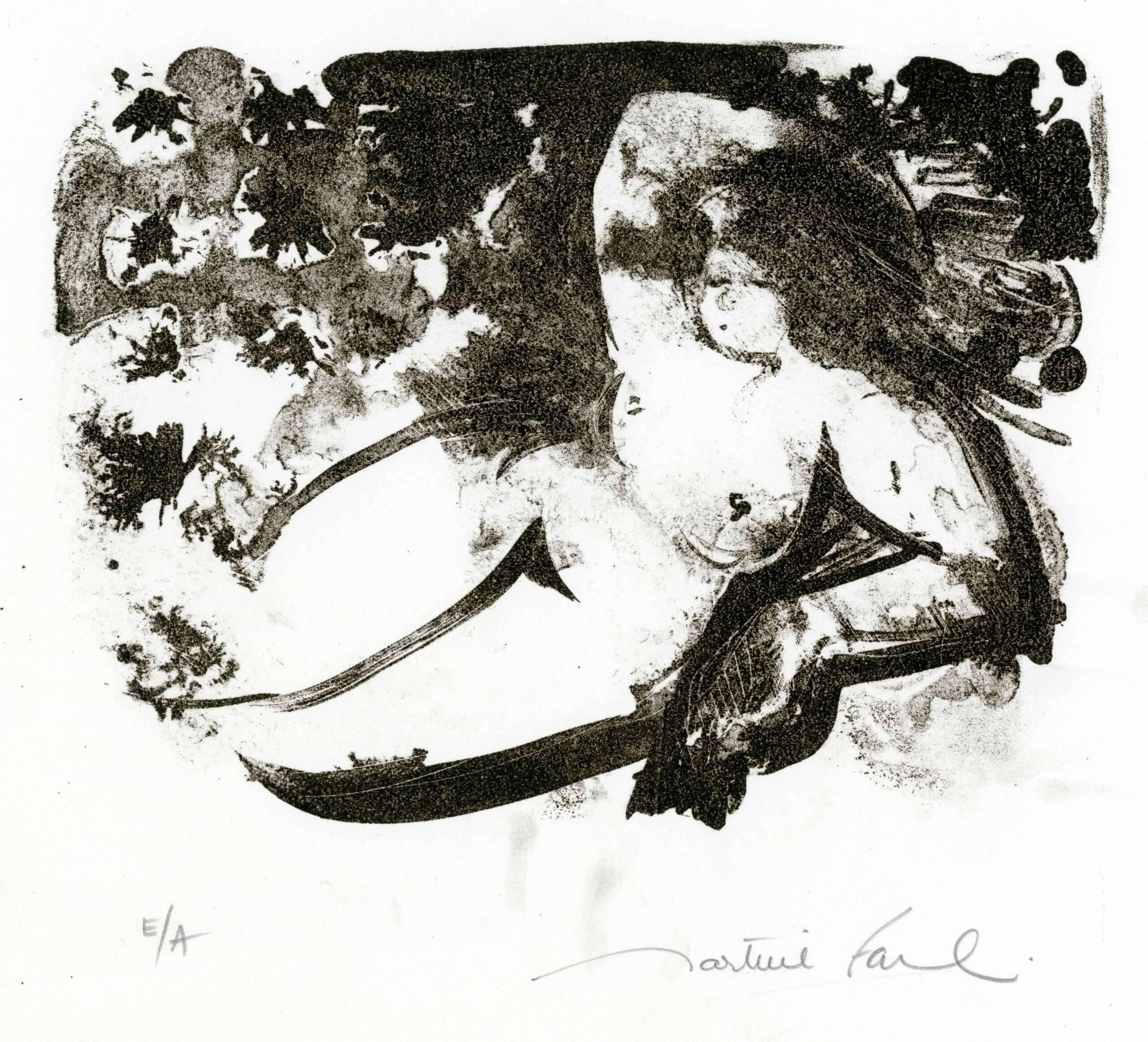 martine-favre-artiste-gravure-litho-femme-nue-lithographie-firmament