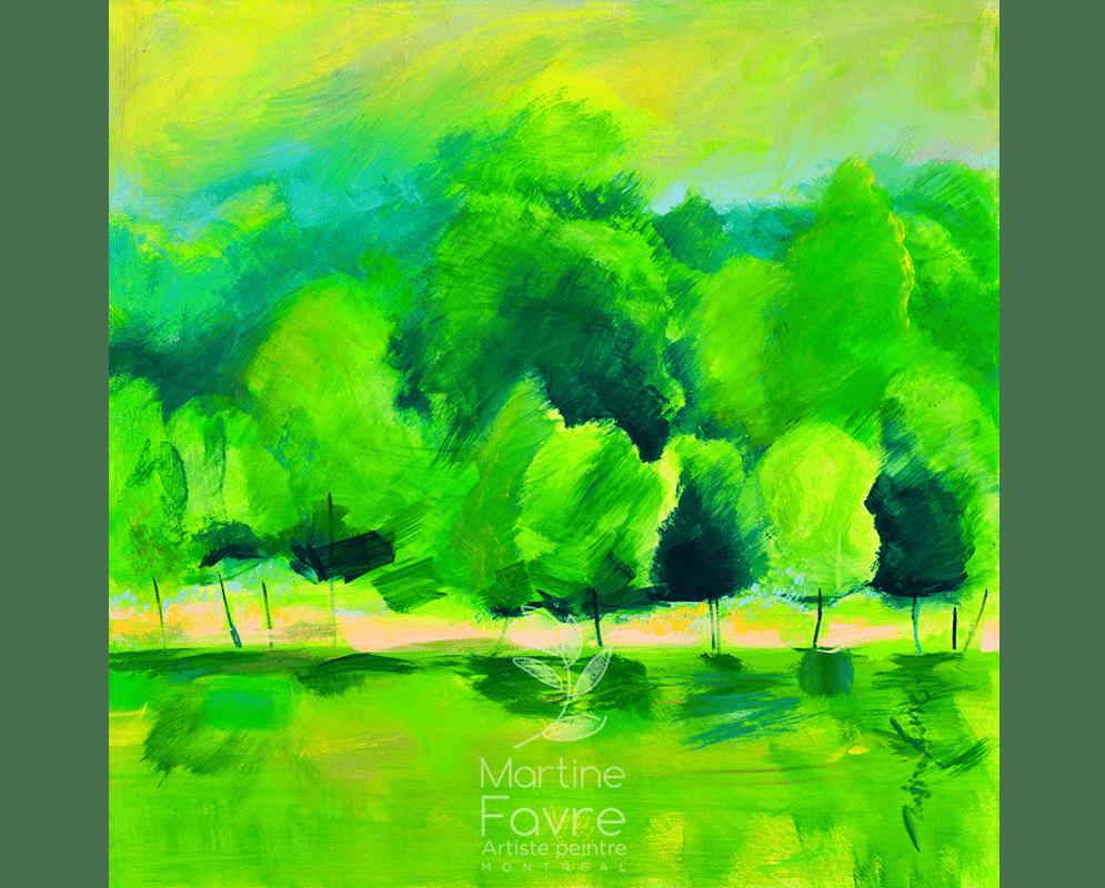 martine-favre-artiste-peinture-montreal-quebec-foret-arbre-vert-cartes-souhaits-esprit