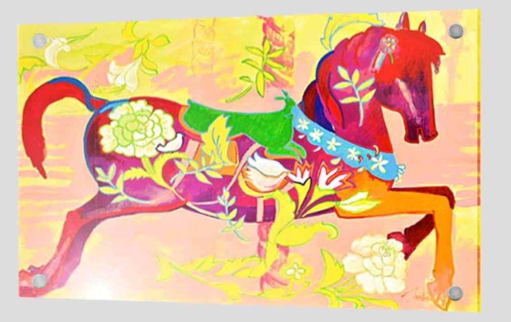 martine-favre-artiste-peinture-plexiglas-carrousel