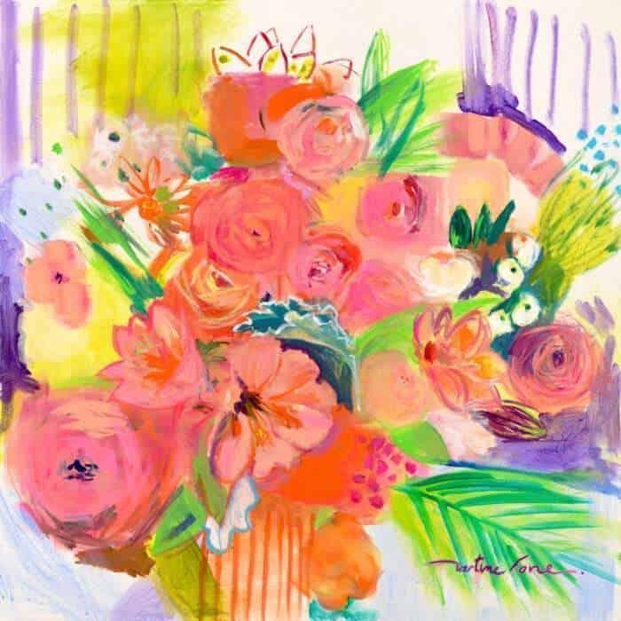 Abondance, Explosion florale